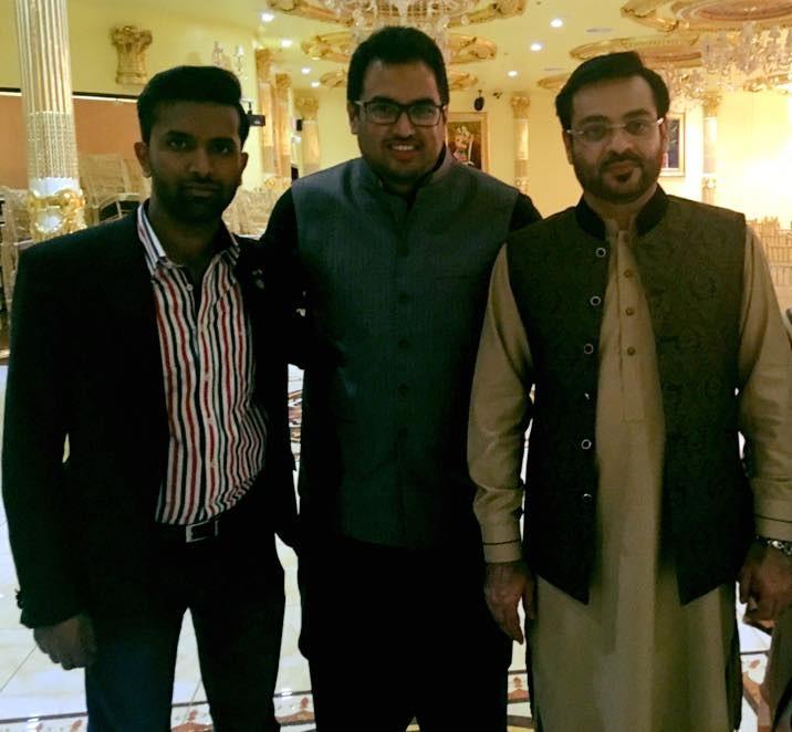 with Dr. Aamir Liaquat