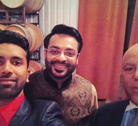 with Dr. Aamir Liaquat Husain & Judge Enrest White