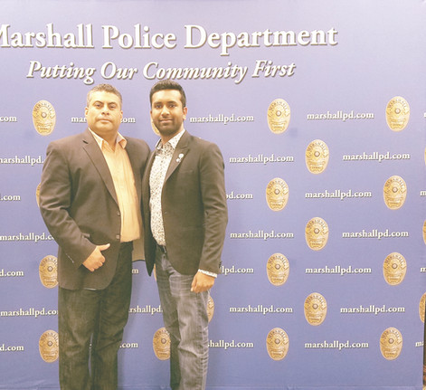 with Chief Jesus Campa MPD