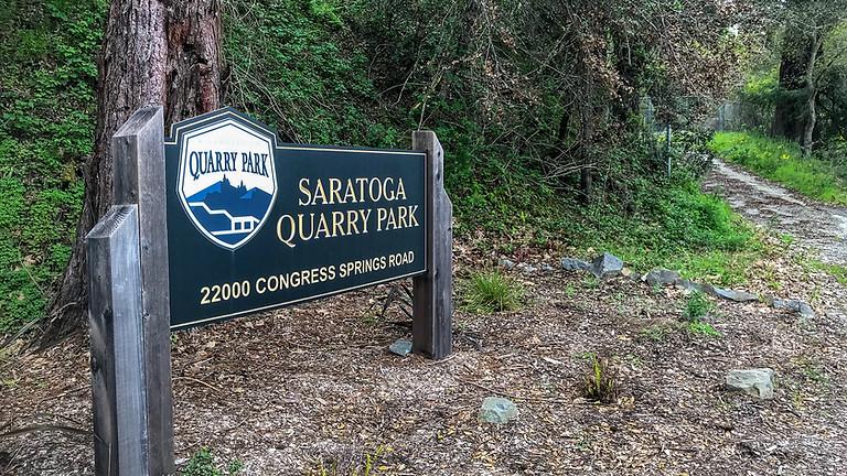 Saratoga Quarry Park Hike to Congress Springs Canyon