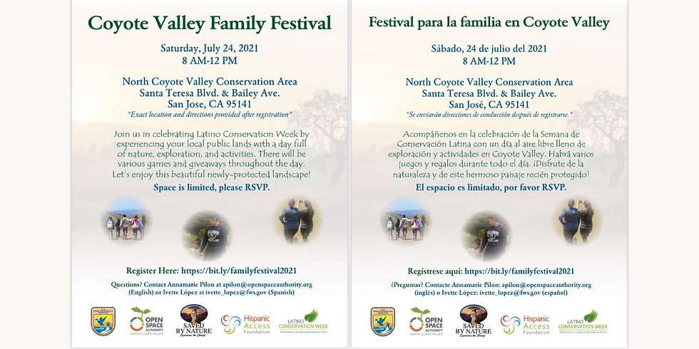 Coyote Valley Family Festival