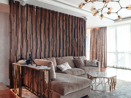 Интерьер недели: красивая квартира в Санкт-Петербурге