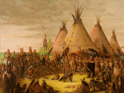 George Catlin and the North American Indian tribes: People of the Parks Past Series #4