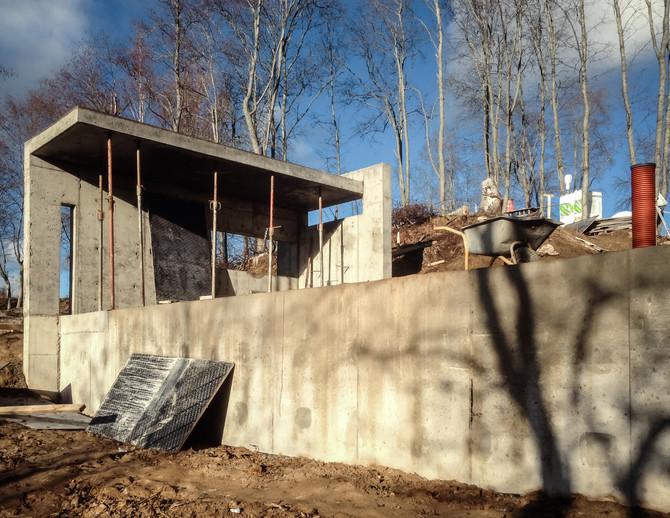 Дремучий домик — фундаменты и другие ж/б конструкции