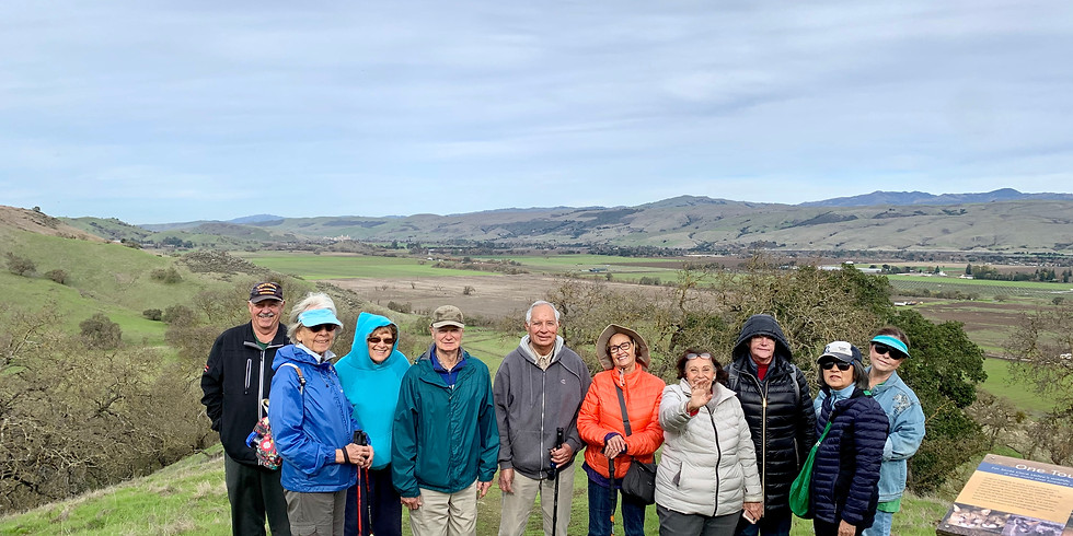 Seniors Explore Coyote Valley Open Space Preserve