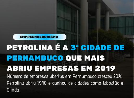 Petrolina mostra que tem um povo empreendedor e se torna 3ª cidade que mais abriu empresas no Estado