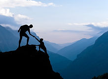 bigstock-Teamwork-Couple-Climbing-Helpi-