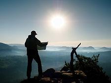bigstock-Silhouette-Of-Young-Tourist-Gu-