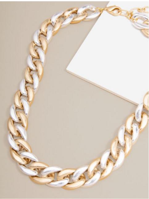 Matte Chain Necklace