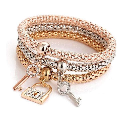 GSR Bracelet Set- Locked