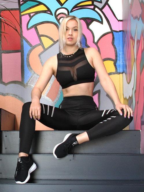 Laguna Sports Bra - Black