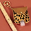 Thumbnail: Animal Print Hand Sanitizer Keychain