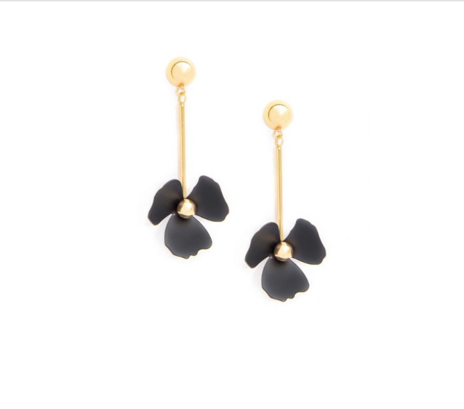 Petal & Metal Earrings