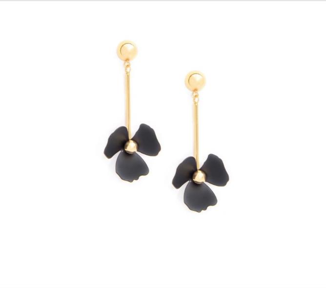 Petal & Metal Earrings