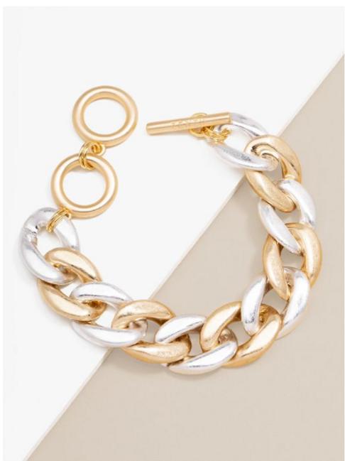 Matte Chain Bracelet