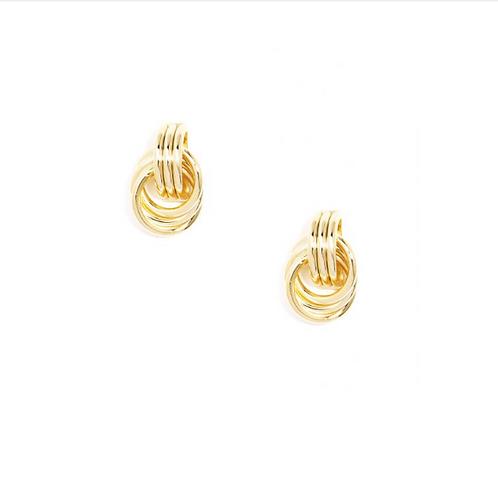Linked Loop Earrings