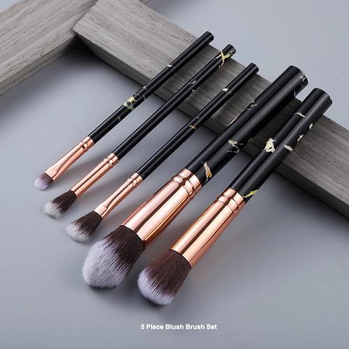 5 Piece Makeup Brush Set