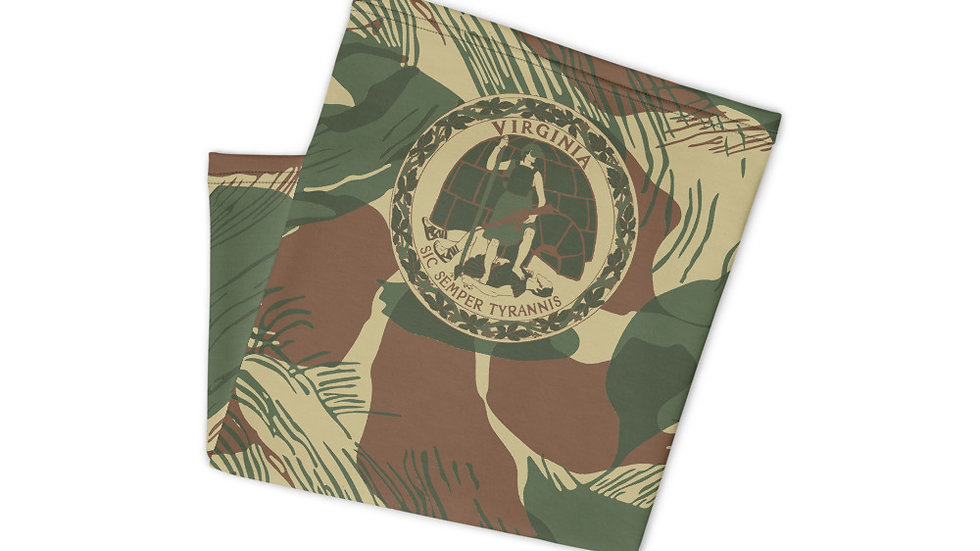 Virginia Rhodesian Brushstroke Neck Gaiter