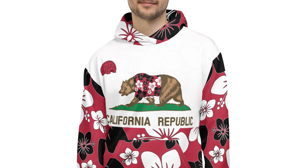 California All Over Print Hoodie