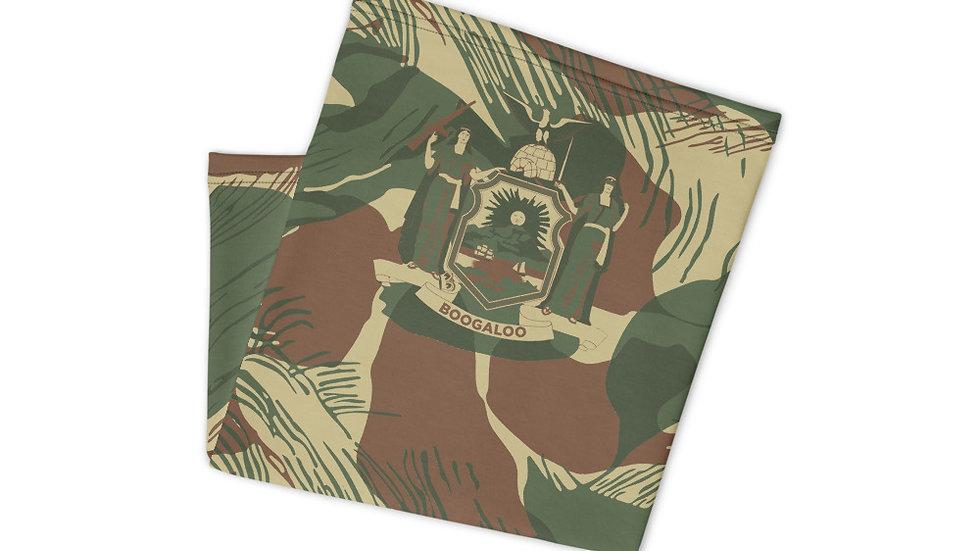 New York Rhodesian Brushstroke Neck Gaiter