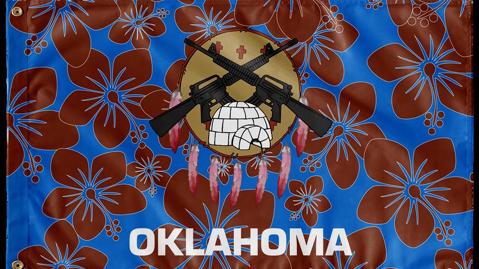 Oklahoma Double Sided Flags