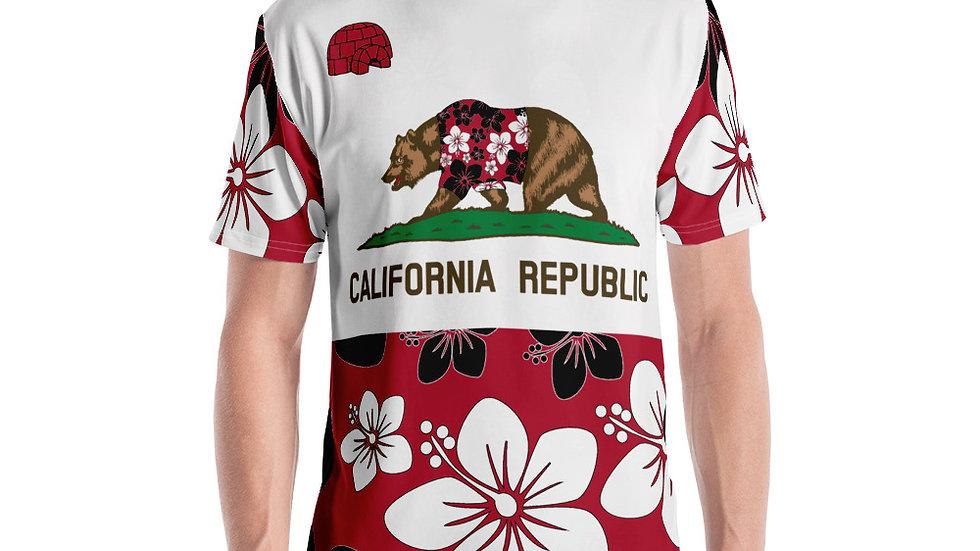 California All Over Print T-shirt