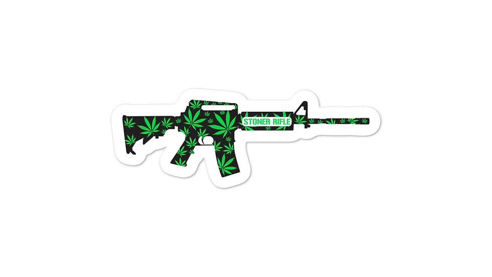 Stoner Rifle Sticker
