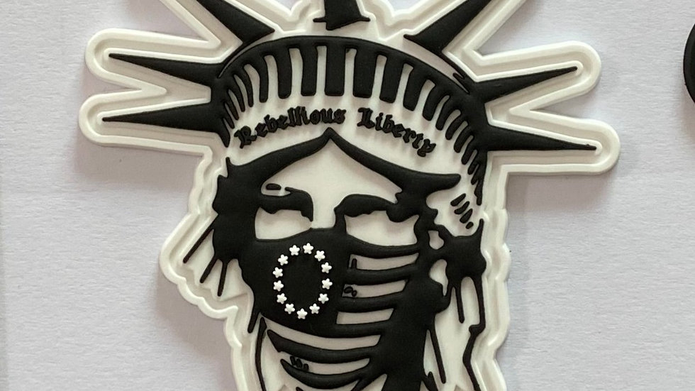 Rebellious Liberty PVC Patch