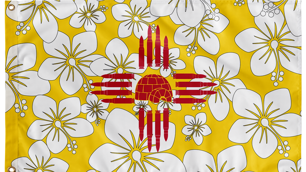 New Mexico Double Sided Flags