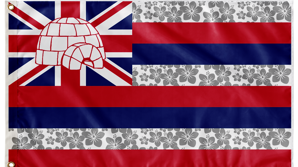 Hawaii Double Sided Flags