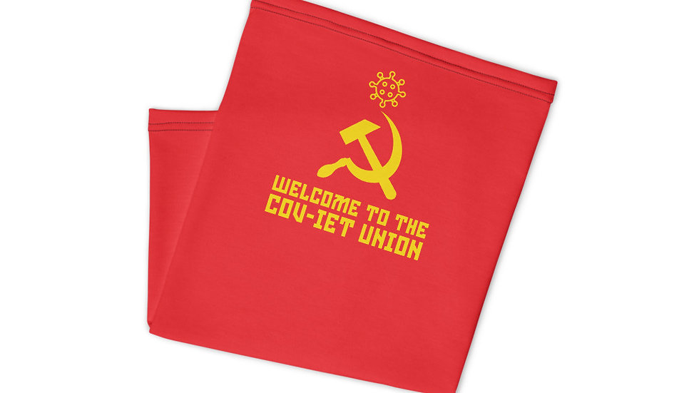 Welcome to the Cov-iet Union Neck Gaiter