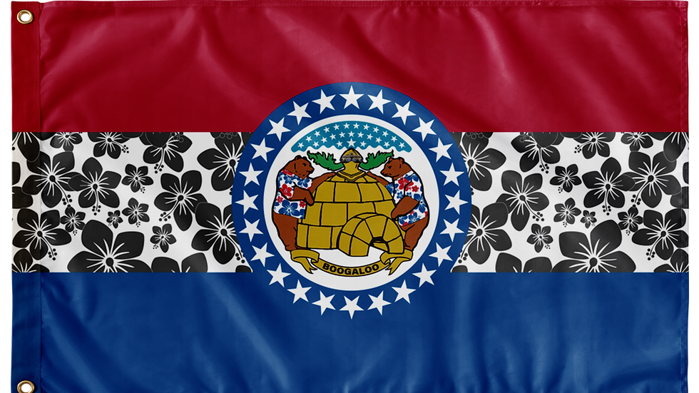 Missouri Double Sided Flags
