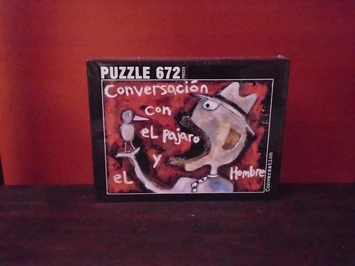 """Conversacion"", 672 piece Jigsaw Puzzle"