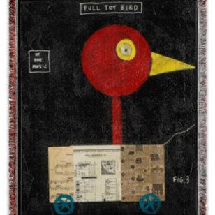 """Pull Toy Bird"" 50x60 Woven Blanket"