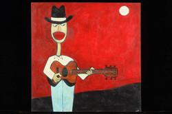 Cowboy Guitar Slinger