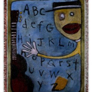 """ABC"" 50x60 Woven Blanket"