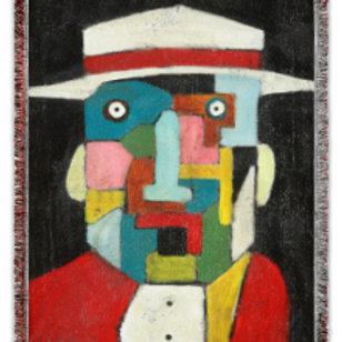 """""""El Hombre"""" 50x60 Woven Blanket"""