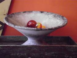 Vintage French Garden Bowl