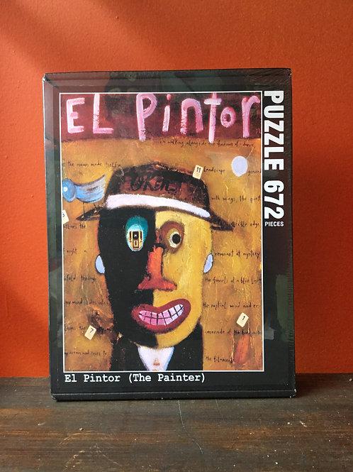 """""""El Pintor"""", 672 piece Jigsaw Puzzle"""