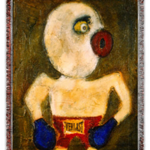 """""""The Boxer"""" 50x60 Woven Blanket"""