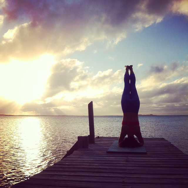 Sunset Headstand