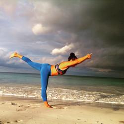 Yoga, Stretching, Warrior 3