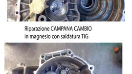 Riparazione di CAMPANA CAMBIO in magnesio