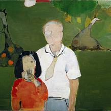 Avô e neta, 2007