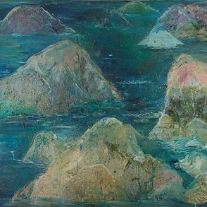 Mar calmo,  águas profundas, 1990