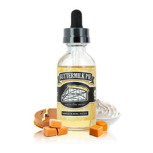 Primitive:  Buttermilk Pie
