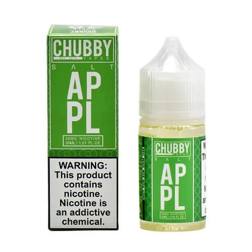 Chubby Bubble:  Apple Nic Salt