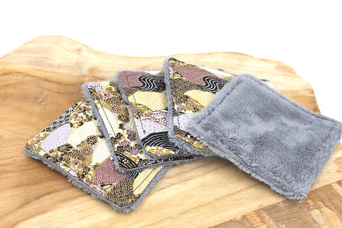 Coton lavable bambou japonais