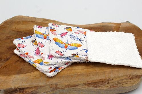 Coton lavable insecte