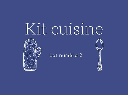 Kit cuisine Lot 2